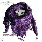 Scarf, purple leodesign