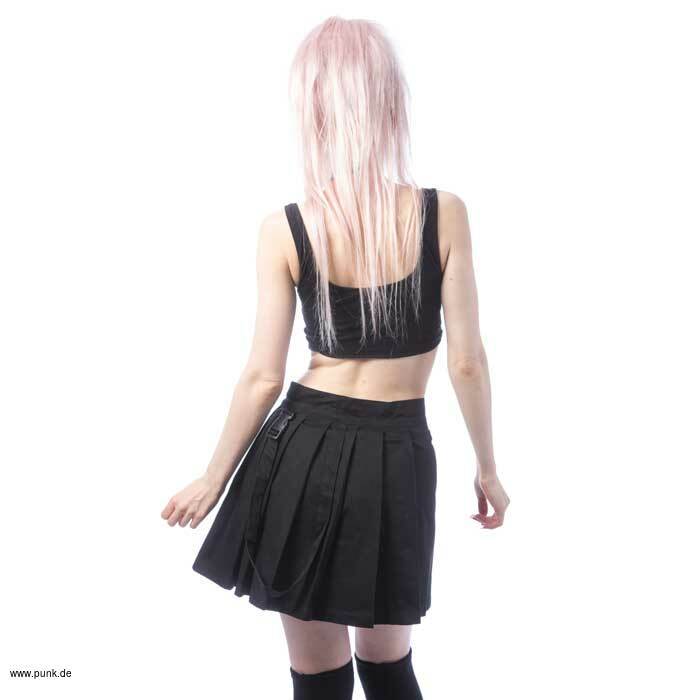 Chemical black: INFINITY SKIRT - BLACK