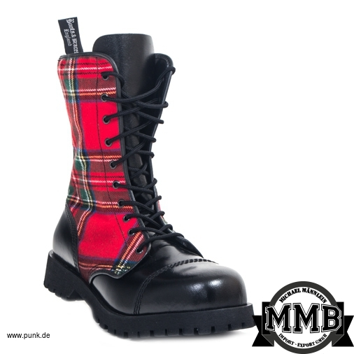 Boots and Braces: Tartan Boots, 8 Loch