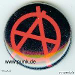 Anarchie-Zeichen-Button