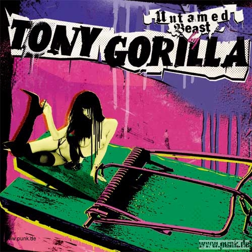 Tony Gorilla: Untamed Beast CD