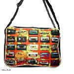 : Bag with tapes, retro