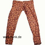 Leoparden Leggings, braun