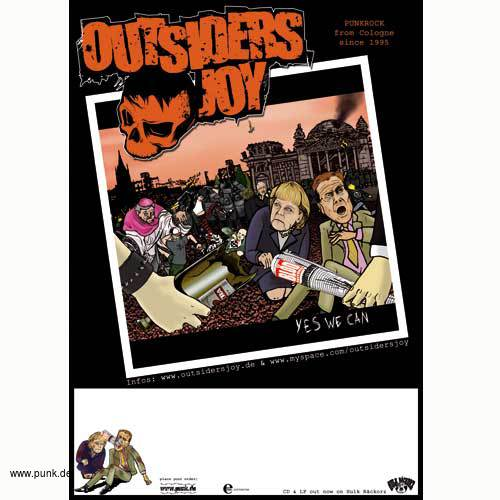 Outsiders Joy: Yes we can Poster
