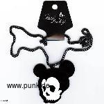 Necklace skeletton Mickey Mouse