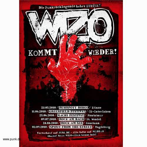 WIZO: Rote Hand Poster