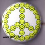 Peace Smilie Button