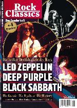 : ROCK CLASSICS LED ZEPPELIN BLACK SABBATH DEEP PURPLE