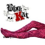 Black Cat Tights Zebra pink