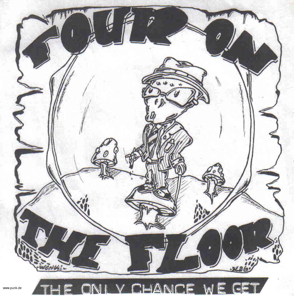 FOUR ON THE FLOOR: The only chance 4-Song-EP