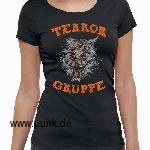 Terrorgruppe: Katze Ladies-Shirt