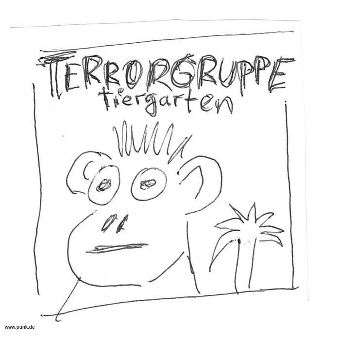 Terrorgruppe: Tiergarten ltd. Box-Set LP/CD/Buch/Bandana/ DL-Code