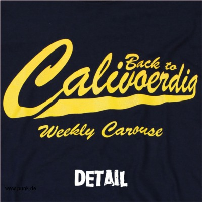 WEEKLY CAROUSE: Back To CaliVOERDia - Girlie-Shirt - Navy