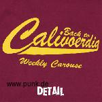 WEEKLY CAROUSE: Back To CaliVOERDia - T-Shirt - Burgundy