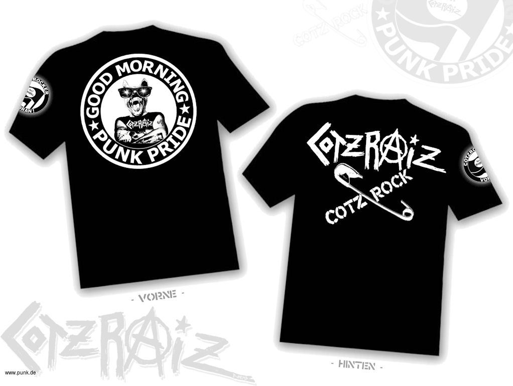: Cotzraiz - Good Morning Punkpride Shirt