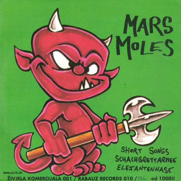 Bez Panike / Mars Moles: Split Single