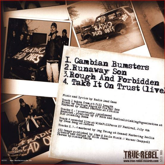 Radio DEAD Ones: Gambian Bumsters EP