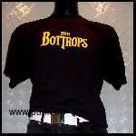 the Bottrops: Beatlogo T-Shirt, schwarz