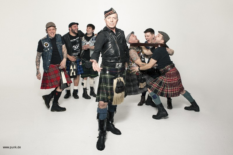 Real McKenzies + Skin of Tears + Support