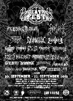 DEATHFEST 2018 - The 15th Attack - Ticket Friday
