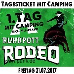 Ruhrpott Rodeo - Freitag - Tageskarte mit Camping
