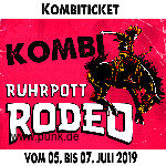 : HardTicket Kombi-Ticket Ruhrpott Rodeo 2019
