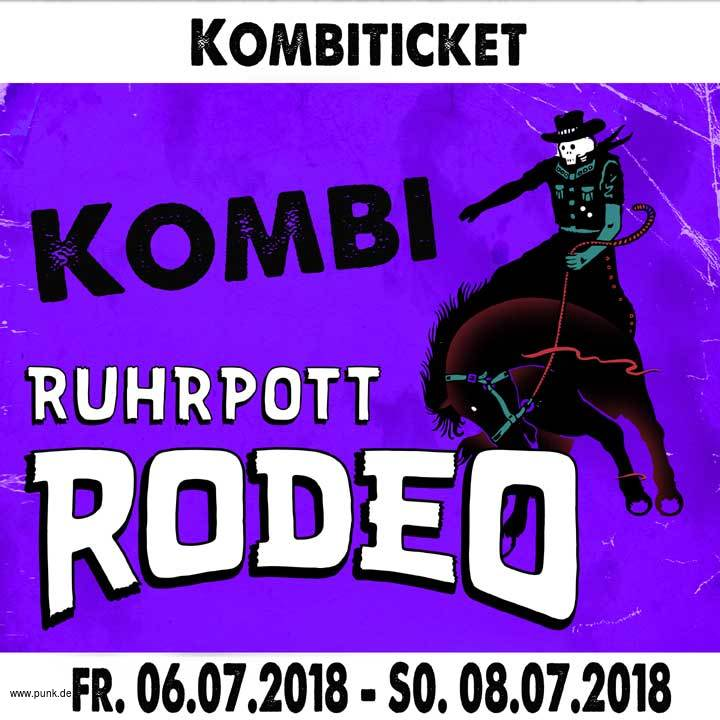 Kombi-Ticket Ruhrpott Rodeo 2018