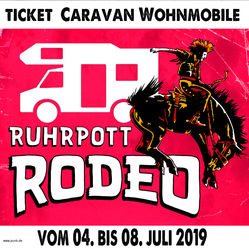 Caravan Ticket Ruhrpott Rodeo 2019