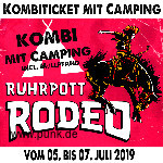 HardTicket Kombi-Ticket inkl Camping Rodeo 2019