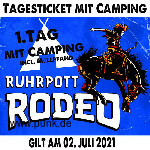 Freitagsticket inkl. Camping - Ruhrpott Rodeo