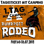 : HardTicket Freitags-Ticket Ruhrpott Rodeo mit Camping
