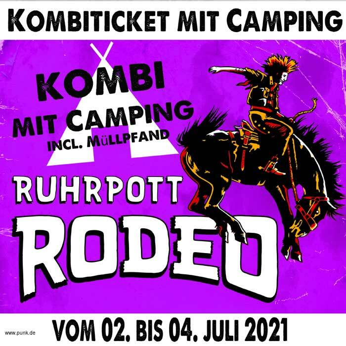 Kombi-Ticket inkl. Camping Rodeo 2021
