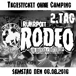 Ruhrpott Rodeo Tageskarte Samstag ohne Camping