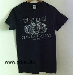 The Real McKenzies: Tourshirt 2015 / schwarz