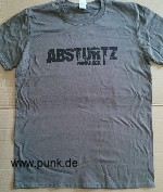: ABSTURTZ-Punkrock TS ( Graue Version)