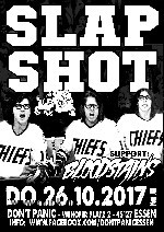 : Slapshot + Bloodstains (Neuer Termin)