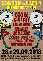 SOB 2018 - The Birthday Ride (Tagesticket SAMSTAG)