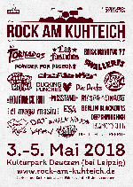 Rock am Kuhteich 2018 - 3 Tage inkl.Camping und 5 Euro Müllpfand