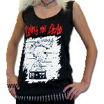 PUNKS NOT DEAD (Girly Tank Top)