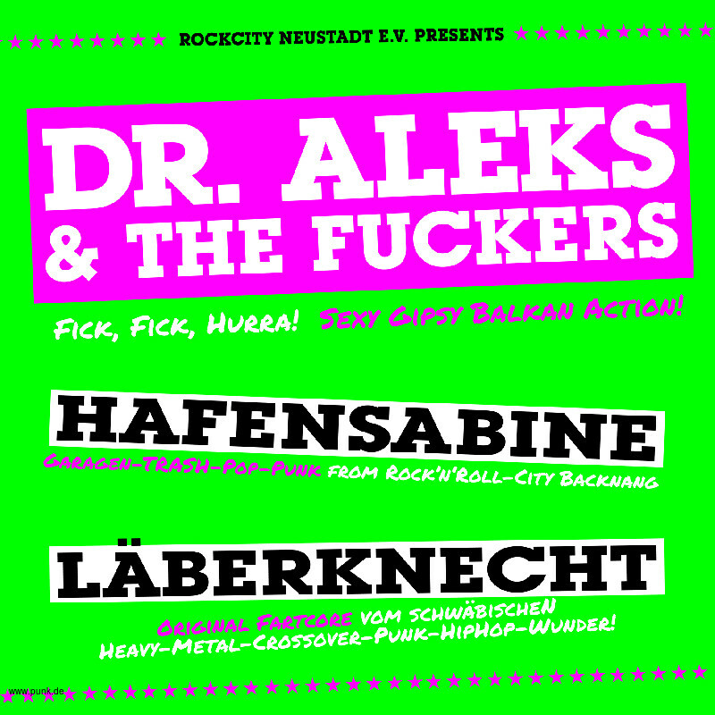 : +++ Dr. Aleks & The Fuckers +++